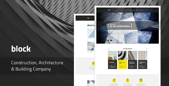 Block — Construction, Architecture, Building Company WordPress Theme - Business Corporate