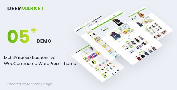 DeerMarket - Multipurpose Responsive WooCommerce WordPress Theme - WooCommerce eCommerce