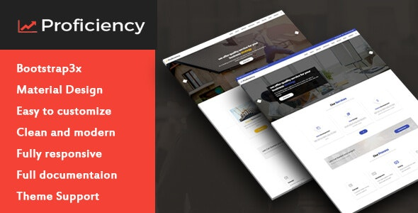 Proficiency One Page Multipurpose Template - Business Corporate