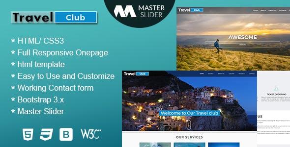 Travel - Premium Responsive HTML Template