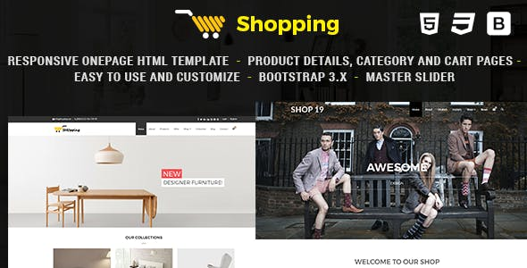 Shop - Responsive eCommerce HTML Template