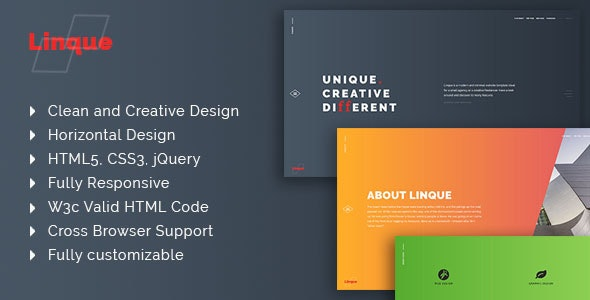 Linque - Multipurpose Responsive HTML Template - Site Templates