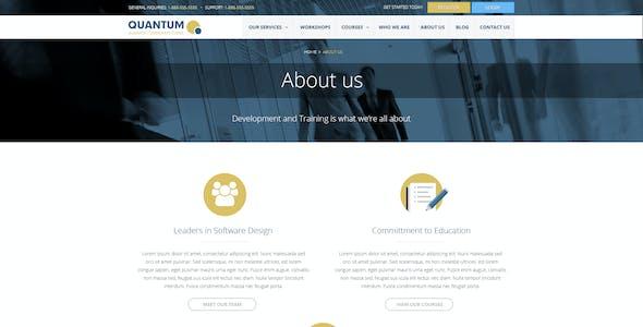 QUANTUM - Responsive Business WordPress Theme
