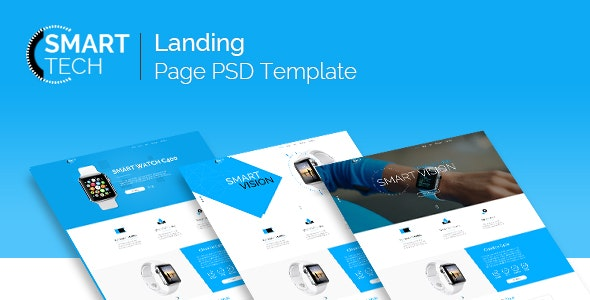 Smart Tech - PSD Template - Shopping Retail