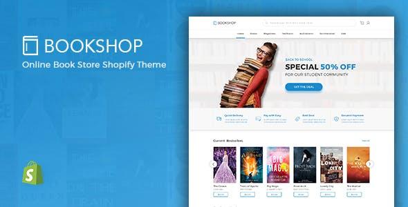 Bookshop - Digital Download Product Shopify Theme