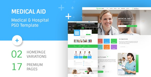 Medical Aid PSD Template - Health & Beauty Retail