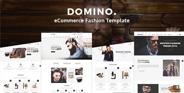 Domino - Fashion Shop eCommerce HTML Template - Fashion Retail