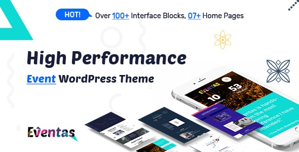 Eventas - Event WordPress Theme - Events Entertainment