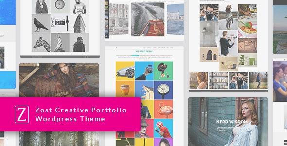 Zfolio - Responsive Portfolio WordPress Theme - Portfolio Creative