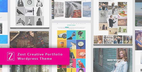Zfolio - Responsive Portfolio WordPress Theme