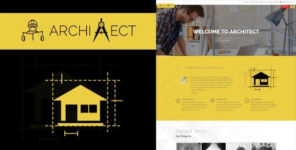 Architect - Responsive Architecture WordPress Theme