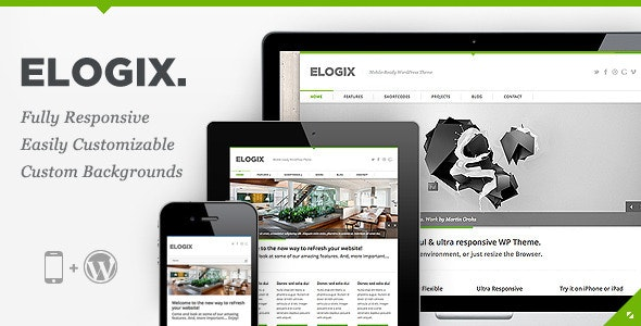 ELOGIX - Responsive Business WordPress Theme - Business Corporate