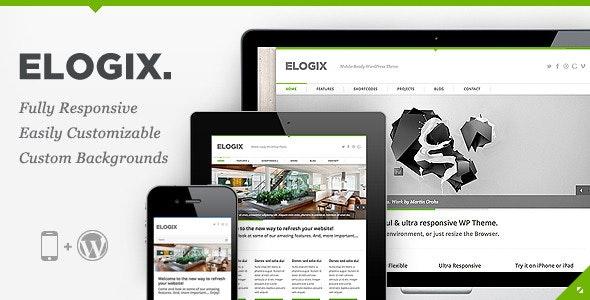 ELOGIX - Responsive Business WordPress Theme - Business Corporate