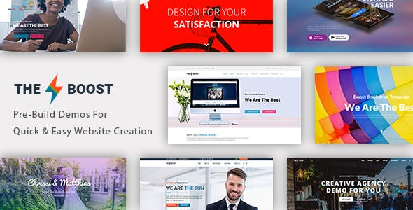 The Boost - Creative Multipurpose WordPress Theme