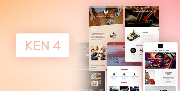 The Ken - Multi-Purpose Creative WordPress Theme - Creative WordPress
