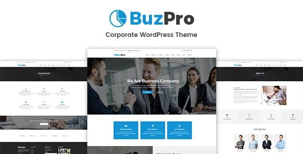 Buzpro - Corporate WordPress Theme