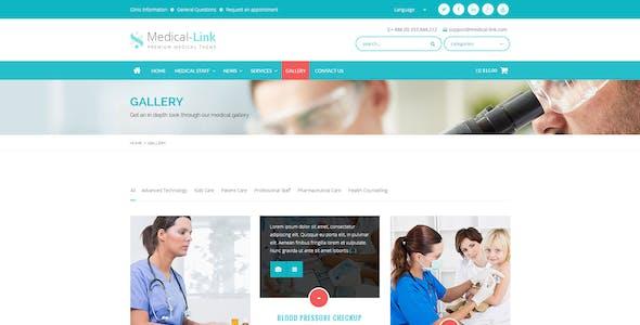Medical-Link - Responsive Medical WordPress Theme