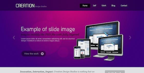 Unique Style Multi Purpose PSD Template