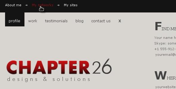 Chapter 26 - Minimal HTML theme - Portfolio Creative