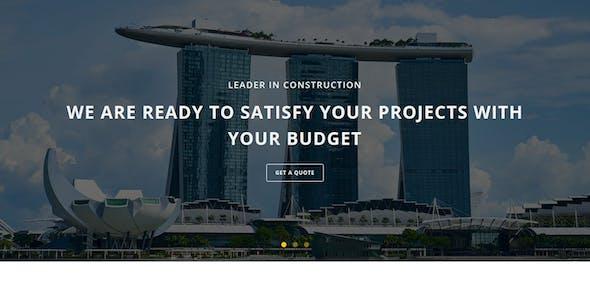 CONSTRUCTION - Multipurpose Responsive HTML Landing Page