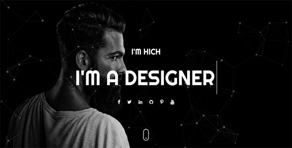 Hitch - One Page Personal HTML Template - Creative Site Templates