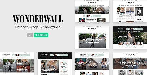 Wonderwall - Responsive Magazine Theme - Blog / Magazine WordPress