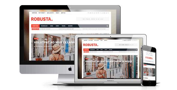 Robusta - Responsive WordPress Magazine and Blog Theme - News / Editorial Blog / Magazine