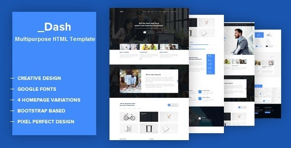 Dash - Business HTML Template - Business Corporate