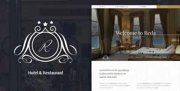 Reda - Hotel & Restaurant WordPress Theme - Travel Retail
