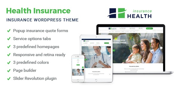 Health Insurance - Business WordPress Theme - Business Corporate