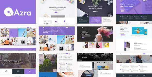 Azra - Creative Multi-Functional Theme - Creative WordPress