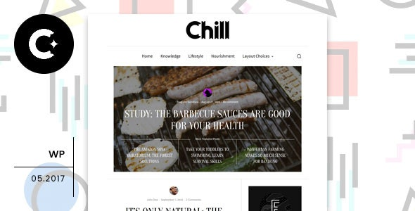 Chill - Blog and Magazine WordPress Theme - Blog / Magazine WordPress