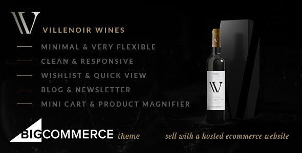 Villenoir BigCommerce Wine Theme - BigCommerce eCommerce