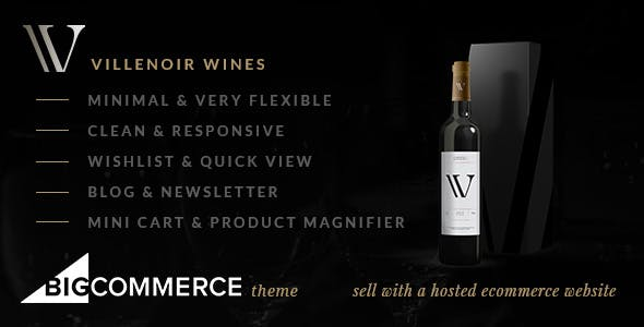 Villenoir BigCommerce Wine Theme