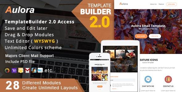 Aulora - Responsive Email + MailBuild Online