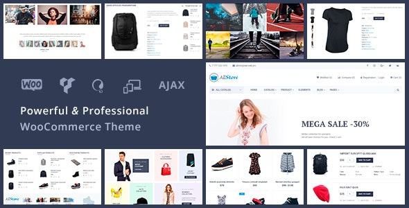 AllStore - Universal WooCommerce WordPress Shop Theme - WooCommerce eCommerce