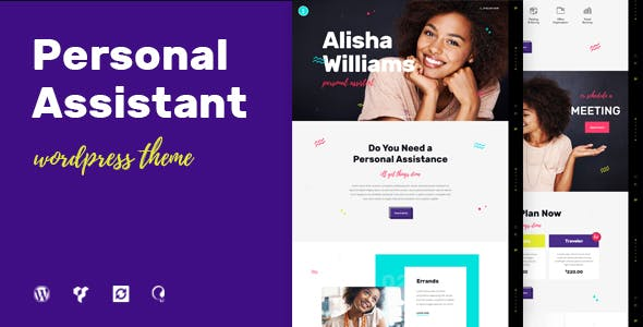 A.Williams   A Personal Assistant & Administrative Services WordPress Theme