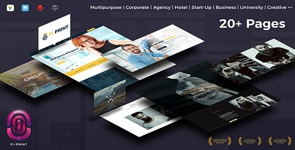 Fi-Print - Evolving High Performance Multipurpose WordPress Theme - Corporate WordPress