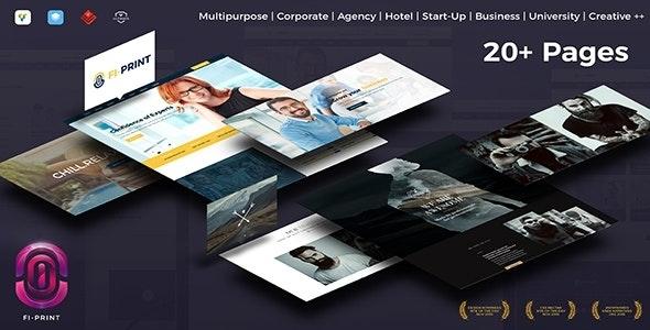 Fi-Print - Evolving High Performance Multipurpose WordPress Theme - Corporate WordPress