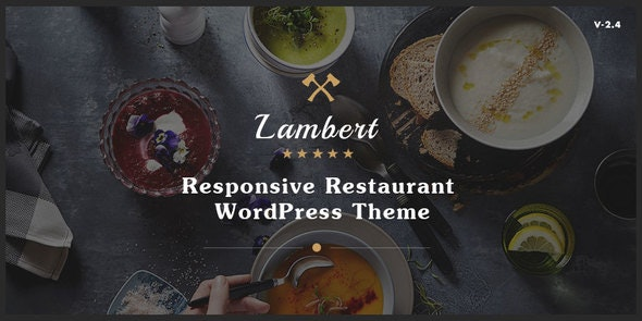 Lambert - Restaurant / Cafe / Pub WordPress Theme - Restaurants & Cafes Entertainment