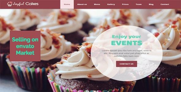 Joyfulcakes - Responsive HTML5 Template - Food Retail