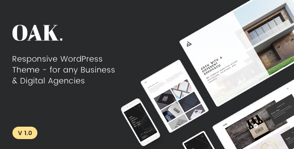 OAK - Creative Portfolio WordPress Theme - Portfolio Creative