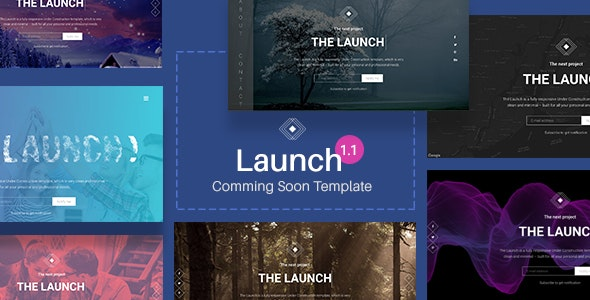 Launch - Coming Soon / Under Construction Template - Under Construction Specialty Pages