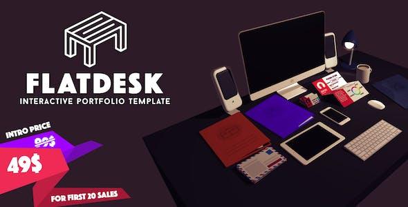 FlatDesk - Innovative Portfolio Template