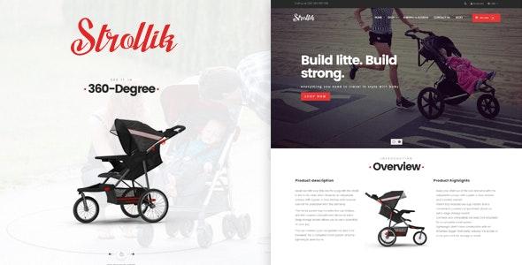 AP Strollik Responsive Bigcommerce Theme Template - BigCommerce eCommerce