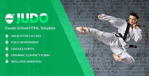 Judo - Martial Art School HTML Template - Health & Beauty Retail
