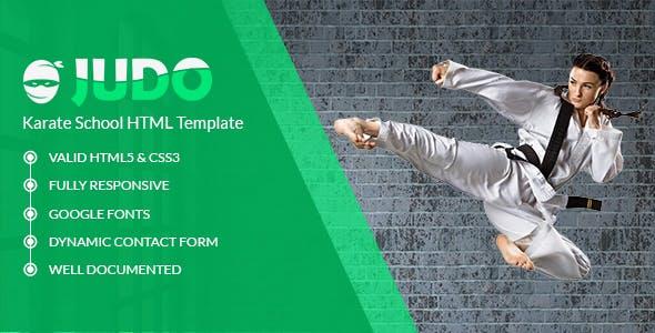 Judo - Martial Art School HTML Template