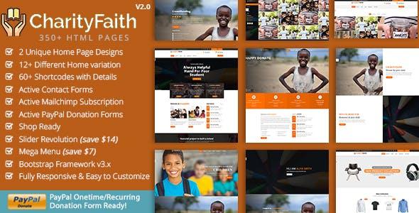 Charity Faith HTML