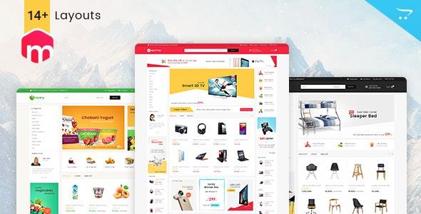 Mega Shop - Opencart 3 Multi-Purpose Responsive Theme - Shopping OpenCart