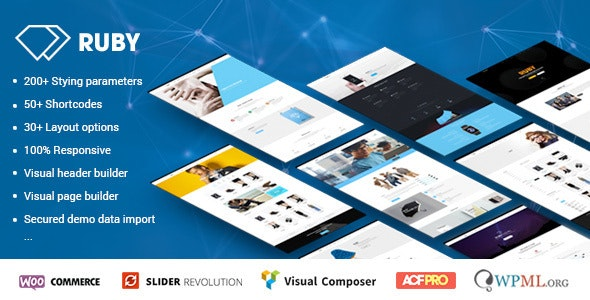 Ruby - WordPress Theme for Business and Portfolio - Corporate WordPress